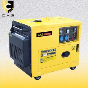 4kw générateur diesel silencieux (TP5500DG)