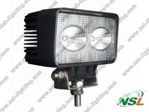 Lampe de camion de la lumière DEL de travail d'entraîneur du rectangle 20W DEL de CREE imperméable à l'eau