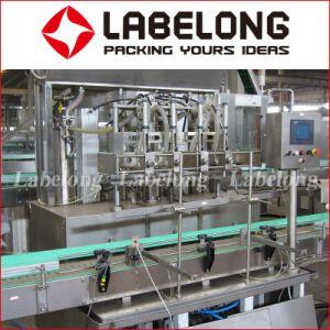 유리병을%s 스테인리스 선형 유형 맥주 충전물 기계