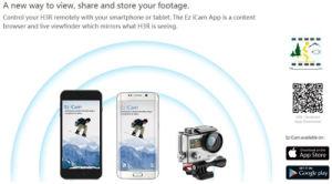 H3r Câmara Acção WiFi 12MP Dual Screen+4K Ultra HD câmara desporto+à prova de controlador remoto