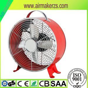 Mini Metal eléctrico pequeño reloj de 8 pulgadas del ventilador de mesa de forma AEA/Ce