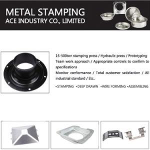 OEM Custom Emboutissage de pièces de métal