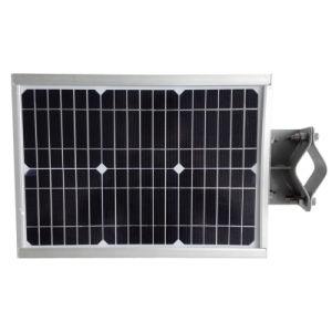 COB Ourside Alumbrado Público LED luces solares Sun Power el controlador de carga Wireless 6W de energía solar todo en uno de la luz de la calle