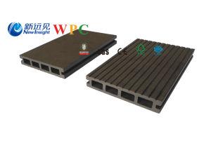 熱い販売の木製のプラスチック合成のDecking、WPCの空のDecking、150 x 24のmm