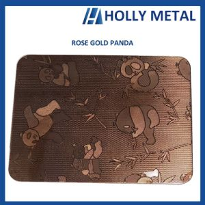 Material de superficie de la construcción de acero inoxidable/hoja grabado en relieve
