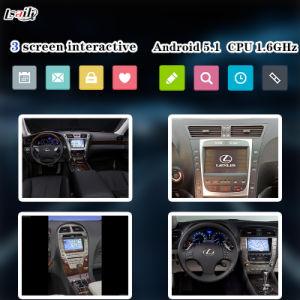 Video interfaccia della casella Android di percorso per Lexus 2005-2009