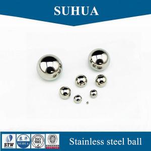 AISI304 5.5931mm 15/64'' la bola de acero inoxidable sólido