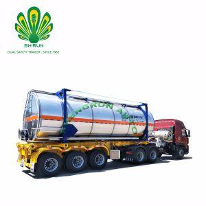 Shengrun T7/T11/T14/T50 ISO 20FT 30FT 40FT Crude de combustível do tanque de óleo do contentor