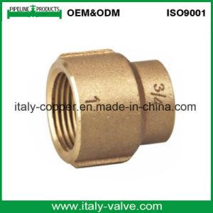 Kundenspezifischer Qualitätsbronzen-Nippel/roter Messing-Nippel (AV-QT-1002)