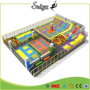 Professional Trampoline énorme lit avec piscine à balles et de la mousse Pit