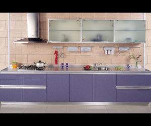 Armless diseño en forma de concha de muebles de cocina