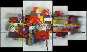 Grupo abstrata acrílico pintura a óleo Wall Art