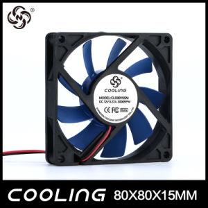 На заводе прямой продажи 12V 8015 электровентилятор системы охлаждения двигателя
