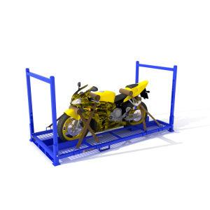 مستودع فولاذ منقول درّاجة ناريّة من من يكدّس من
