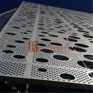Panel de aluminio perforado para revestimiento de pared