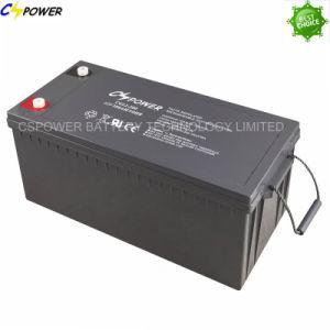 La norme CEI approuvé Akkumulators 12V200ah l'énergie solaire Accumulateurs avec longue durée de vie 15ans