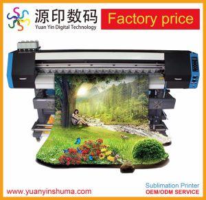 Doppia stampante di getto di inchiostro diretta di Digitahi del rullo di gomma per la testina di stampa di Epson