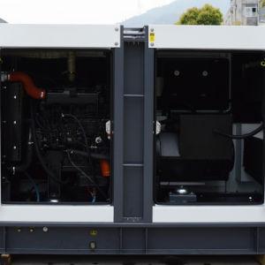 Небольшого размера 35 ква бесшумный тип питания двигателя Deutz дизельный генератор