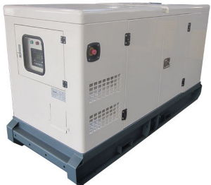 Unire Power 20kw Soundproof Isuzu Engine Generator Set