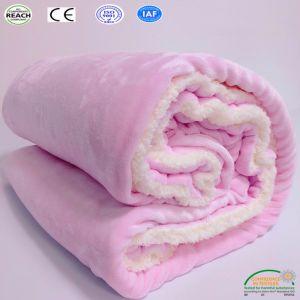 極度の柔らかく曖昧で暖かく優雅で居心地のよいSherpaの投球毛布