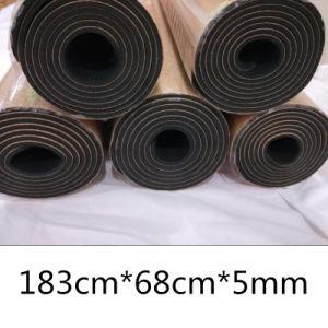 La línea de cuerpo de goma Cork Estera Del Yoga actividad multiuso para Pilates Fitness