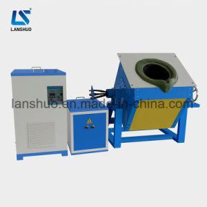 110kw preço de fábrica de indução de alta eficiência forno de fundição de ouro para venda