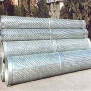 Kohlenstoffarmer Stahl-galvanisierte wohle bohrende Wasser-Quellfilter