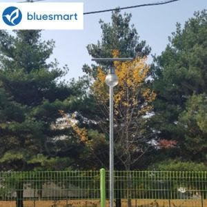 Простота установки и использования солнечной энергии на открытом воздухе в саду под руководством уличного освещения