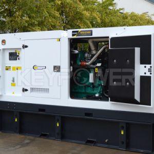 55kVA a energia de espera do tipo silencioso quatro cilindros conjunto gerador silenciosa