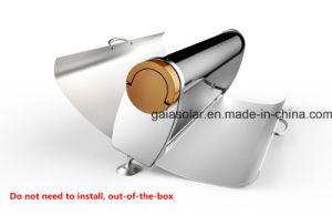 Het horizontale Parabolische BBQ van Cookstove China Kooktoestel van de Zonne-energie