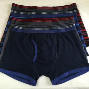 Riassunto di seta di nylon a strisce di tintura del pugile degli uomini di modo della fascia dell'iarda