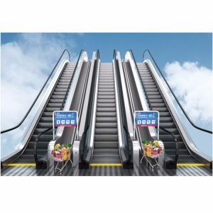 Trumpf супермаркет Корзина эскалатора на торговый центр