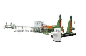 Cabo de alimentação da linha de extrusão de alta velocidade (90mm) do extrusor