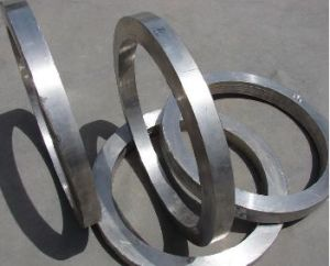 Seamless bagues forgées en acier inoxydable laminés