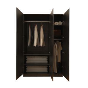 3 أبواب خزانة ثوب رخيصة كبيرة