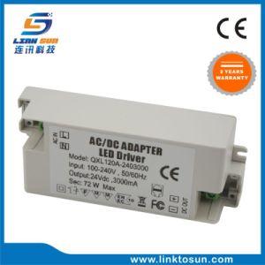 La tensione costante 72W 24V 3A impermeabilizza il driver del LED