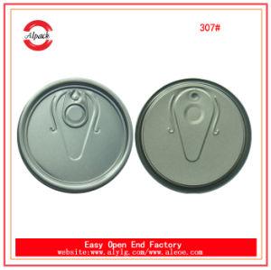 307# Schmieröl-einfache geöffnete Aluminiumkappe