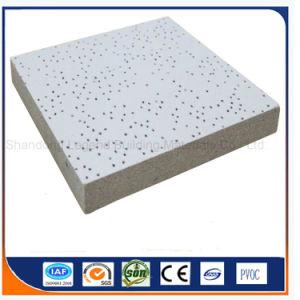 Suspendido del techo de fibra mineral/Minearl Junta Junta lana