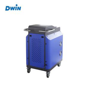 금속 유성 페인트 녹 제거제 Laser 세탁기술자 청소 기계 100W 200W 500W