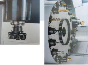 アルミニウムのための4つの軸線CNCの製粉及び鋭い機械中心