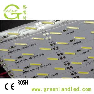 Garantia de 3 anos de alta luminosidade 12V SMD LED 7020 24V régua rígida