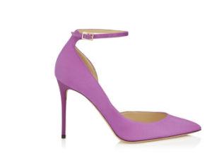 Neue Auslegung-Form-Frauen-hohe verfolgte Schuhe (O 82)