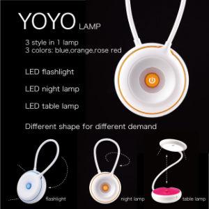 Bewegliche bunte LED-Tisch-Lampen-populäre Glühlampe