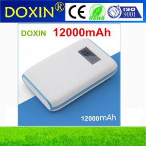 12000mAh móvil de alta capacidad del banco de potencia