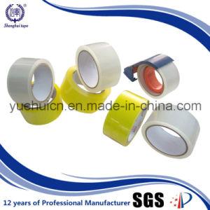 Melhor qualidade do adesivo acrílico de cor amarelada OPP Fita da embalagem