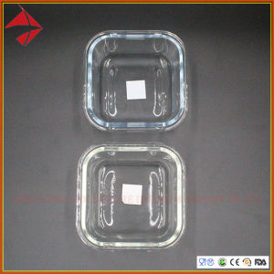 Gesundheits-und Umweltschutz-hoher Borosilicat-Glas-Nahrungsmittelbehälter mit pp.-Kappe