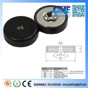 39фунт неодимовые магниты резиновым покрытием