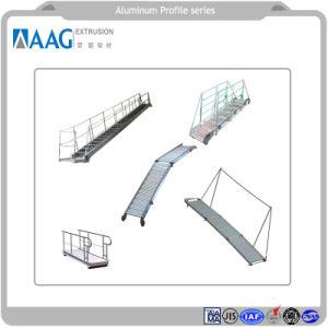 As peças de máquinas de processamento de metais industriais de alumínio de perfil