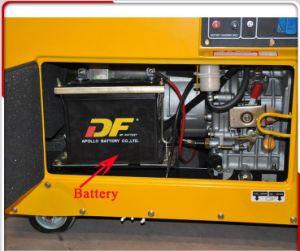 Небольшой тихой портативный 5 квт дизельный генератор