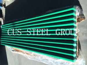빨간 Blue Green Prepainted PPGI Corrugated Roofing Tile 또는 Color Roofing Sheet